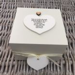 Shabby Personalised Chic Auntie Aunty Great Aunt Gift Trinket Box Jewellery Box - 253191076933